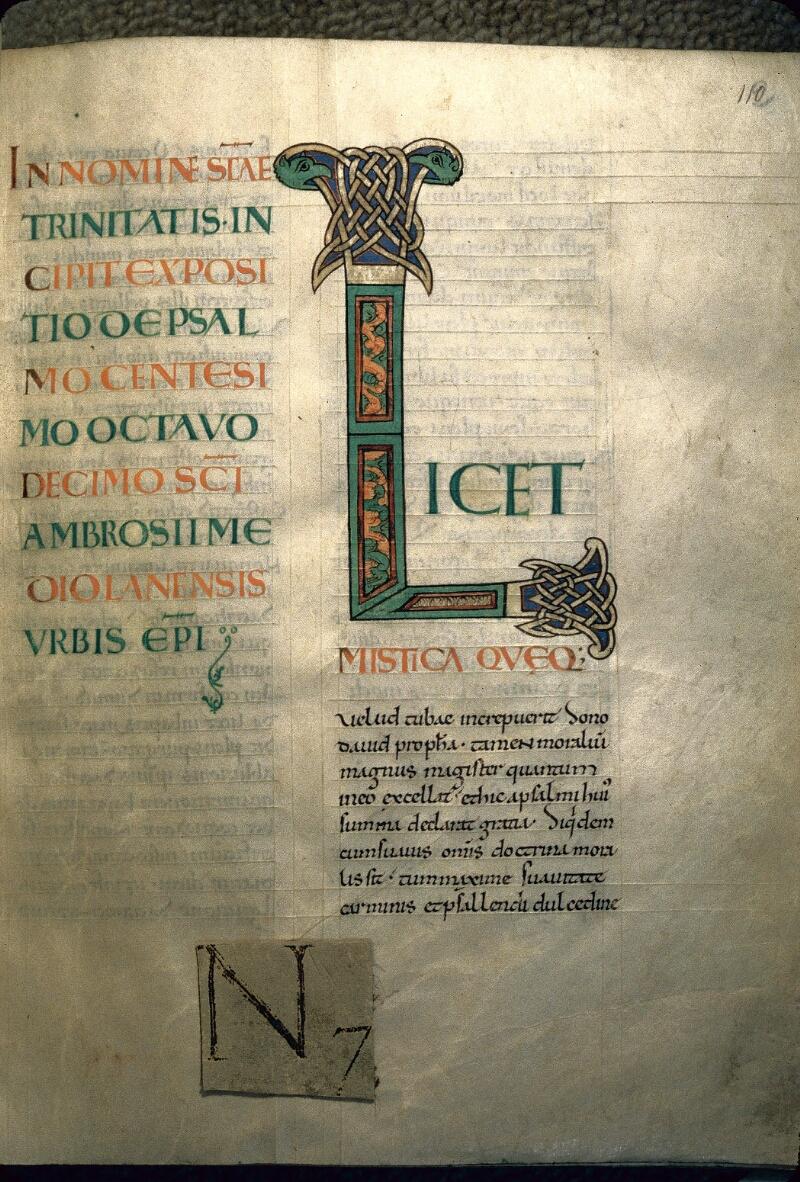 Avranches, Bibl. mun., ms. 0061, f. 112