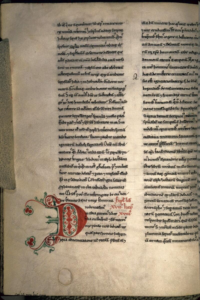 Avranches, Bibl. mun., ms. 0069, f. 098v