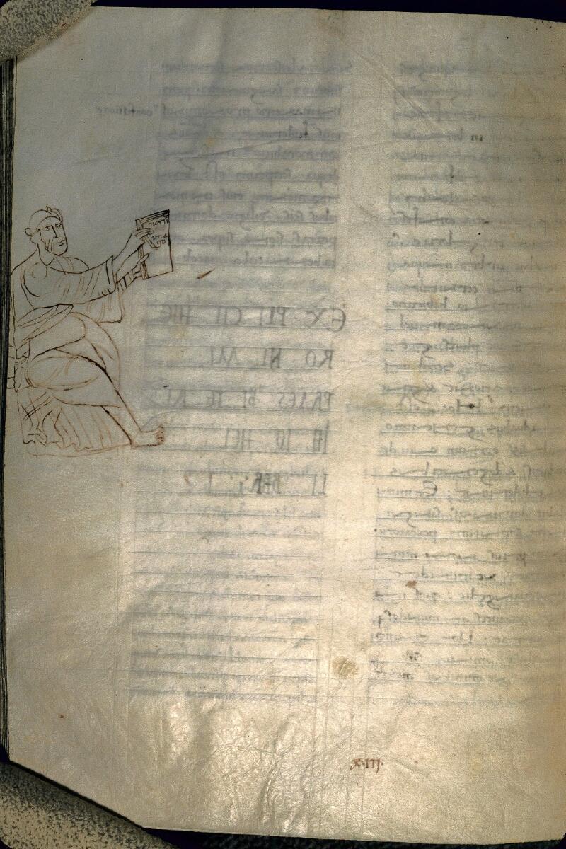 Avranches, Bibl. mun., ms. 0069, f. 221v - vue 1