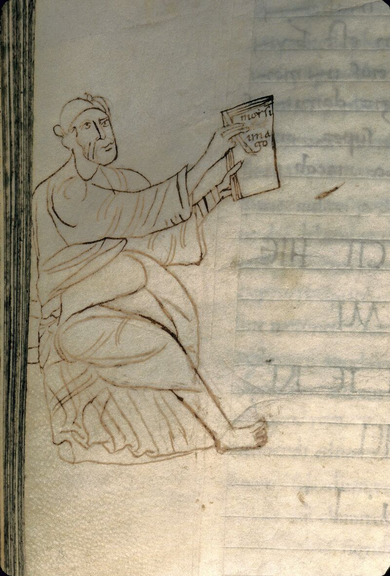 Avranches, Bibl. mun., ms. 0069, f. 221v - vue 2