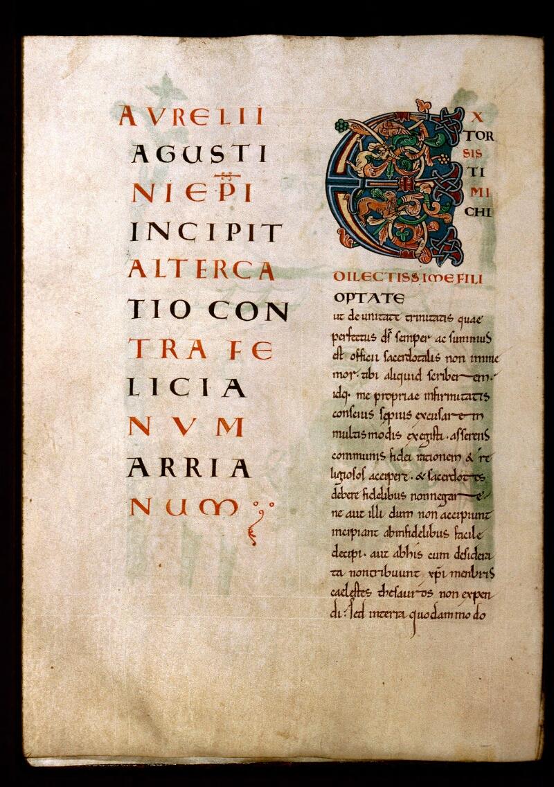 Avranches, Bibl. mun., ms. 0072, f. 097v - vue 1