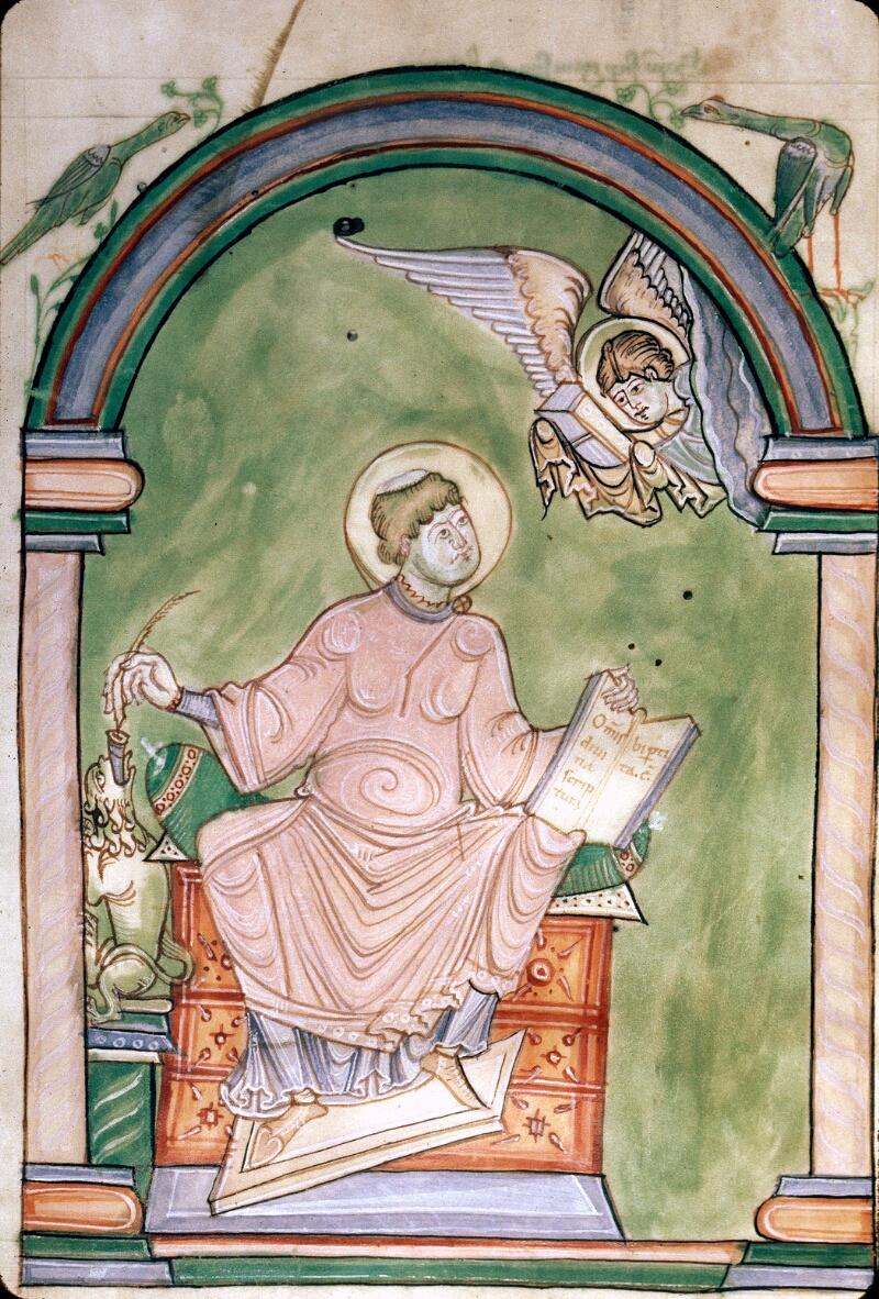 Avranches, Bibl. mun., ms. 0075, f. C v - vue 2