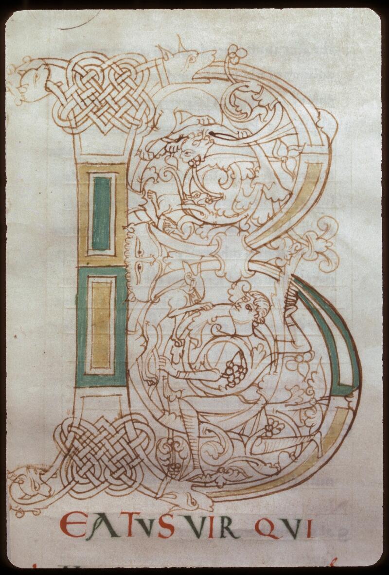 Avranches, Bibl. mun., ms. 0076, f. 001 - vue 2