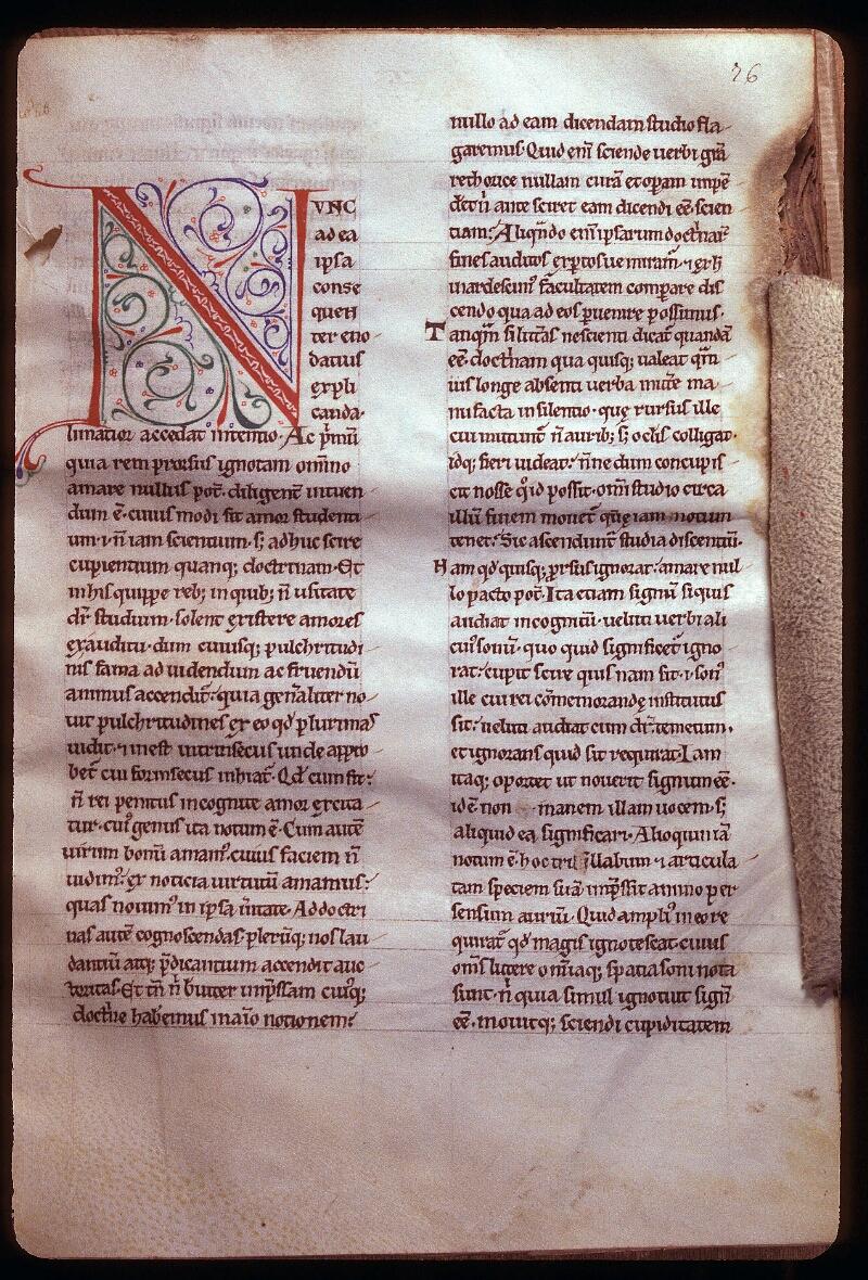 Avranches, Bibl. mun., ms. 0085, f. 076