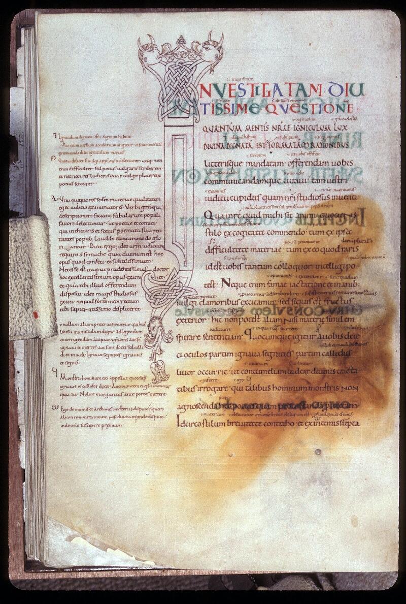 Avranches, Bibl. mun., ms. 0086, f. 137v - vue 1