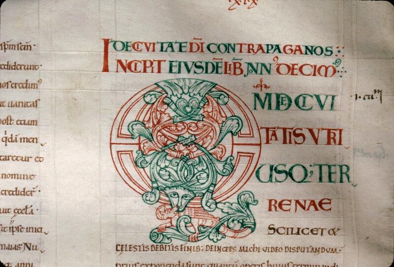 Avranches, Bibl. mun., ms. 0089, f. 158v