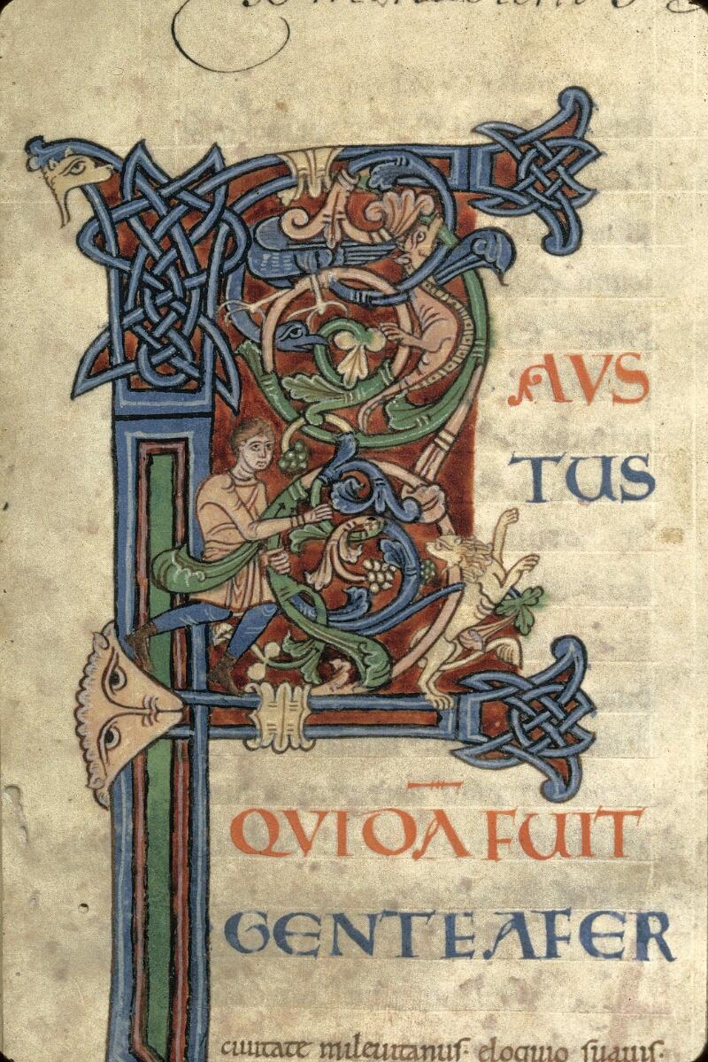 Avranches, Bibl. mun., ms. 0090, f. 002 - vue 2