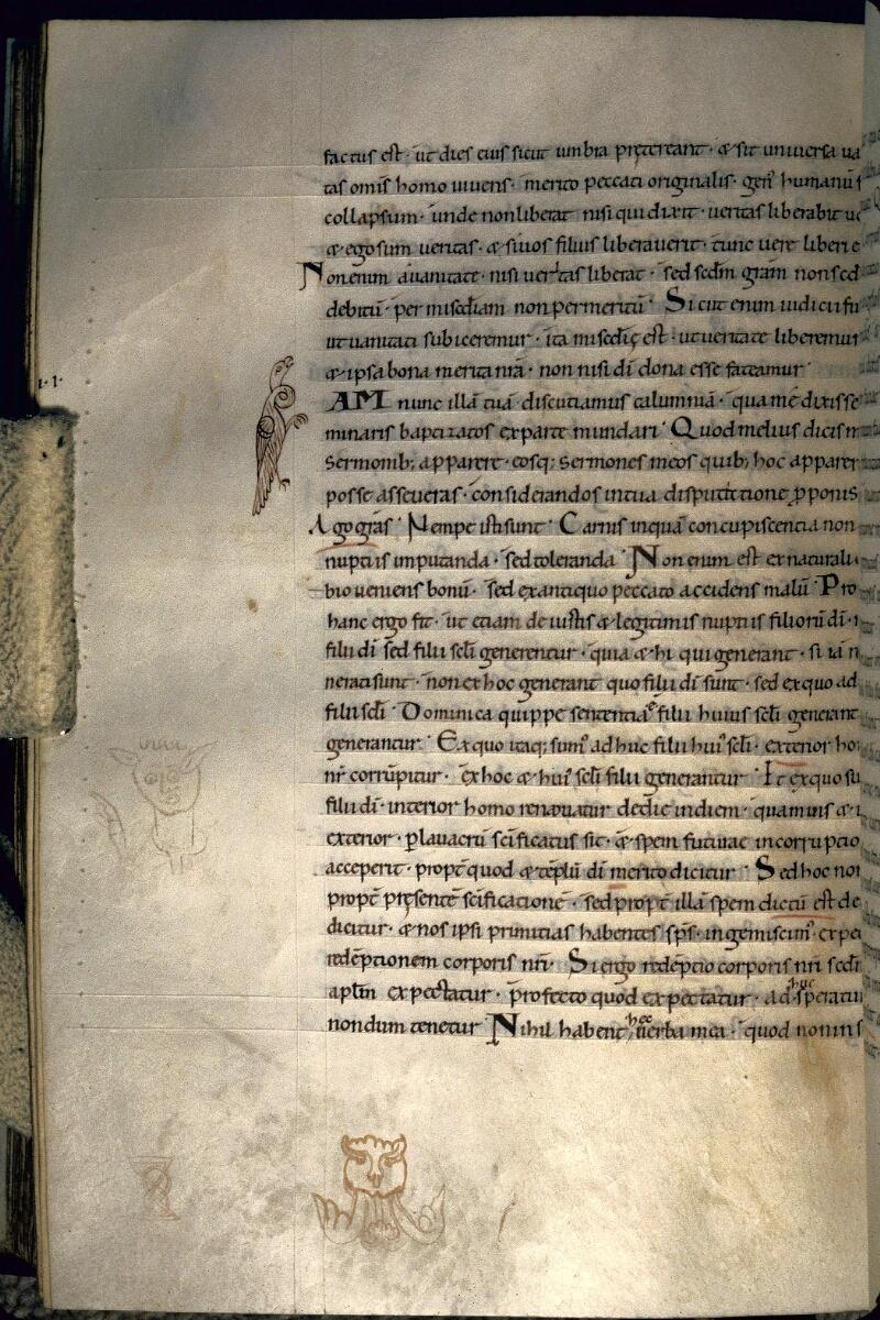 Avranches, Bibl. mun., ms. 0091, f. 153v - vue 1