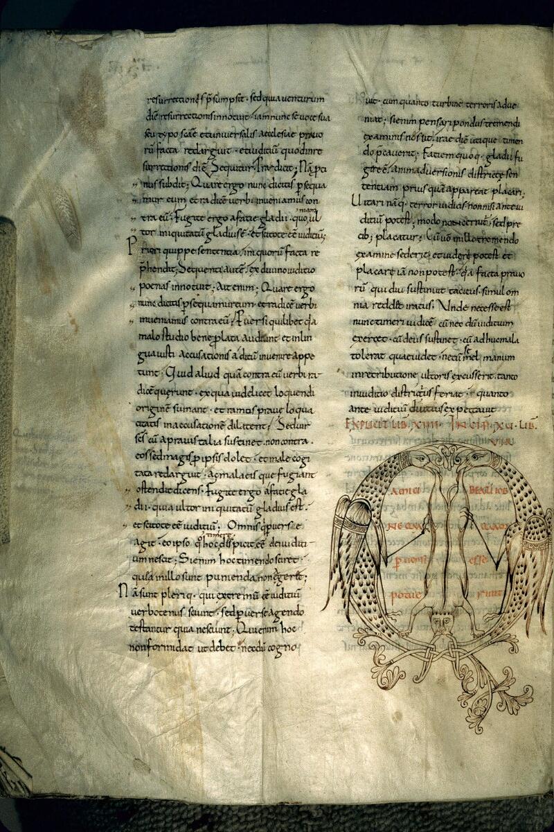 Avranches, Bibl. mun., ms. 0097, f. 240v - vue 1