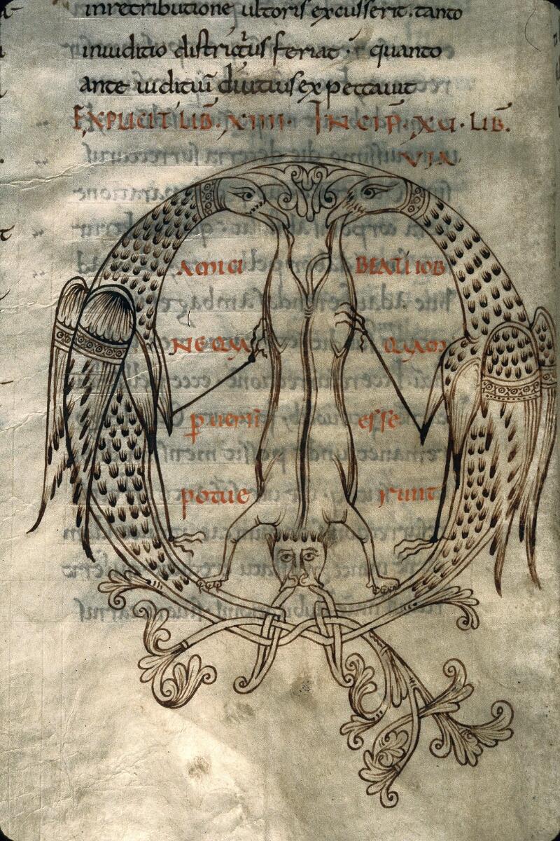 Avranches, Bibl. mun., ms. 0097, f. 240v - vue 2