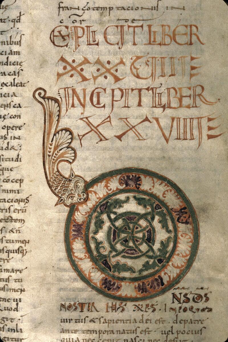 Avranches, Bibl. mun., ms. 0098, f. 143v - vue 2