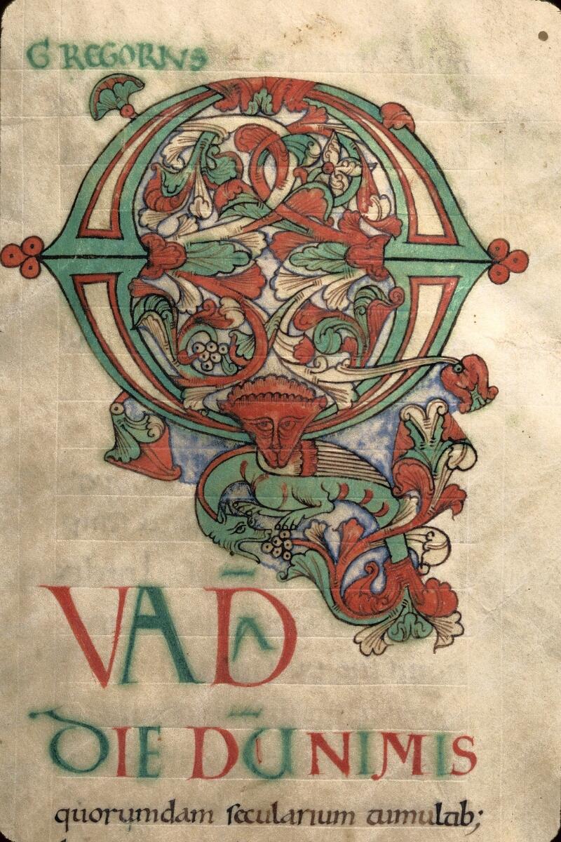 Avranches, Bibl. mun., ms. 0101, f. 002 - vue 2