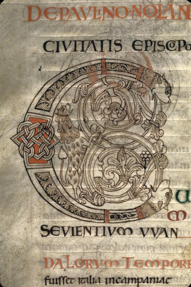 Avranches, Bibl. mun., ms. 0101, f. 045v - vue 2