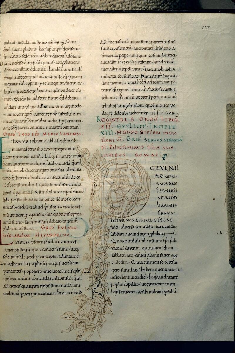 Avranches, Bibl. mun., ms. 0102, f. 188 - vue 1