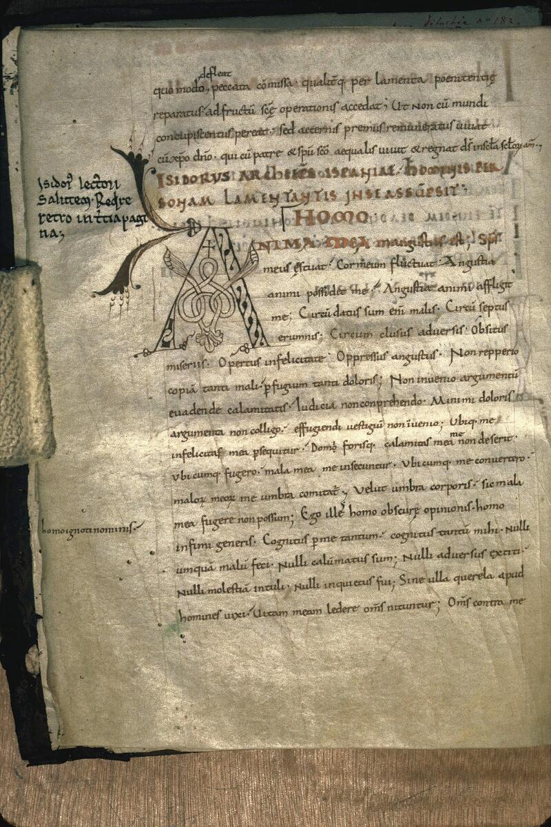 Avranches, Bibl. mun., ms. 0105, f. 006v