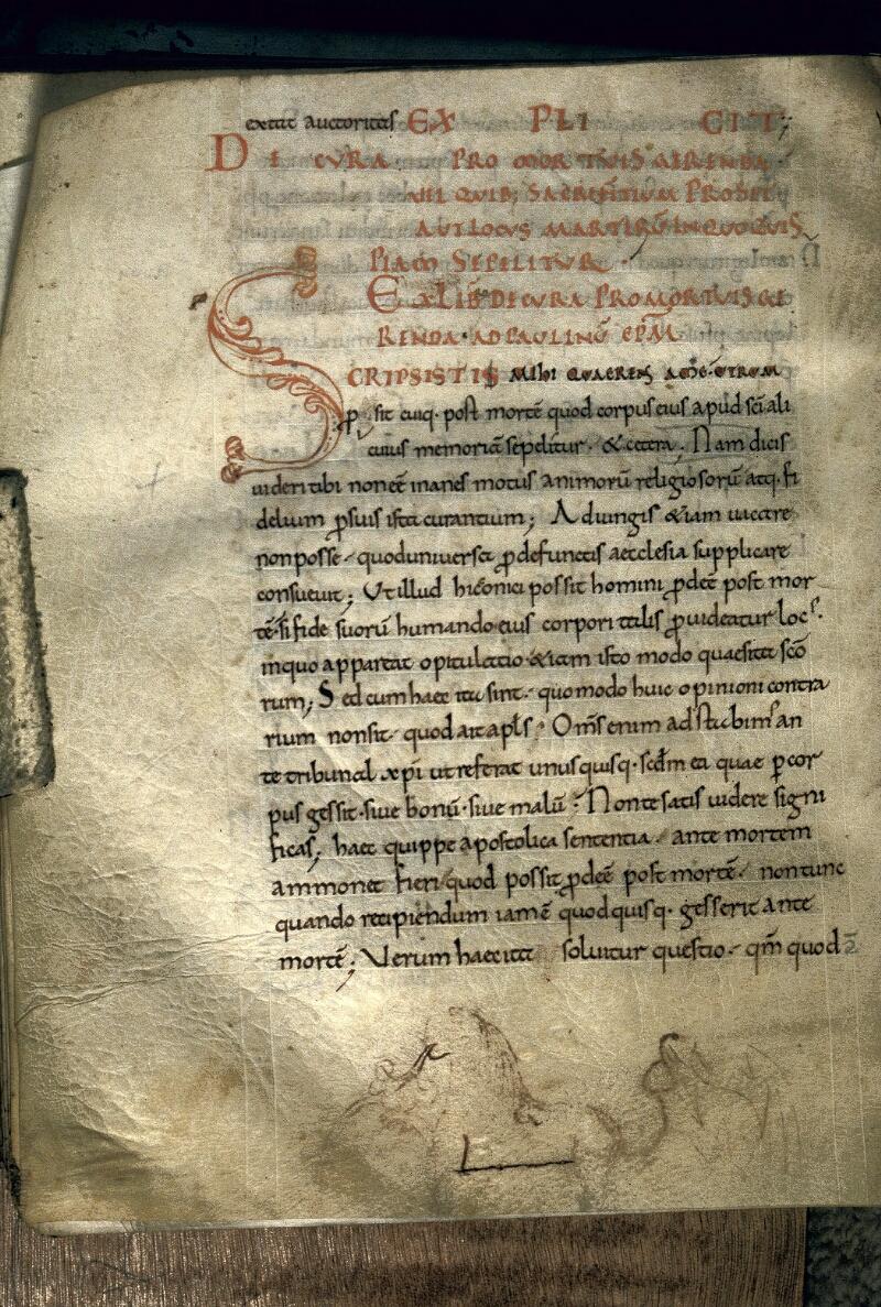 Avranches, Bibl. mun., ms. 0105, f. 153v