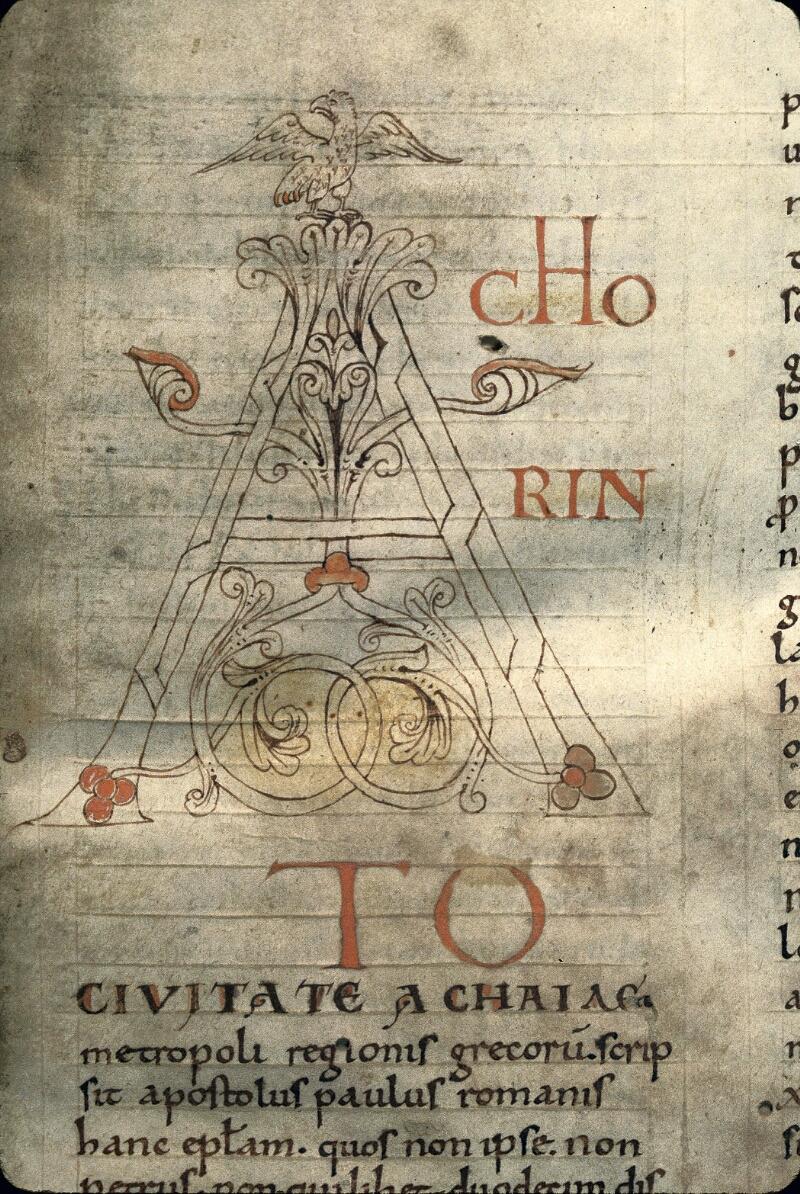 Avranches, Bibl. mun., ms. 0115, f. 002 - vue 2