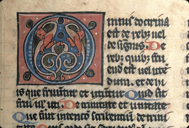 Avranches, Bibl. mun., ms. 0120, f. 001 - vue 2