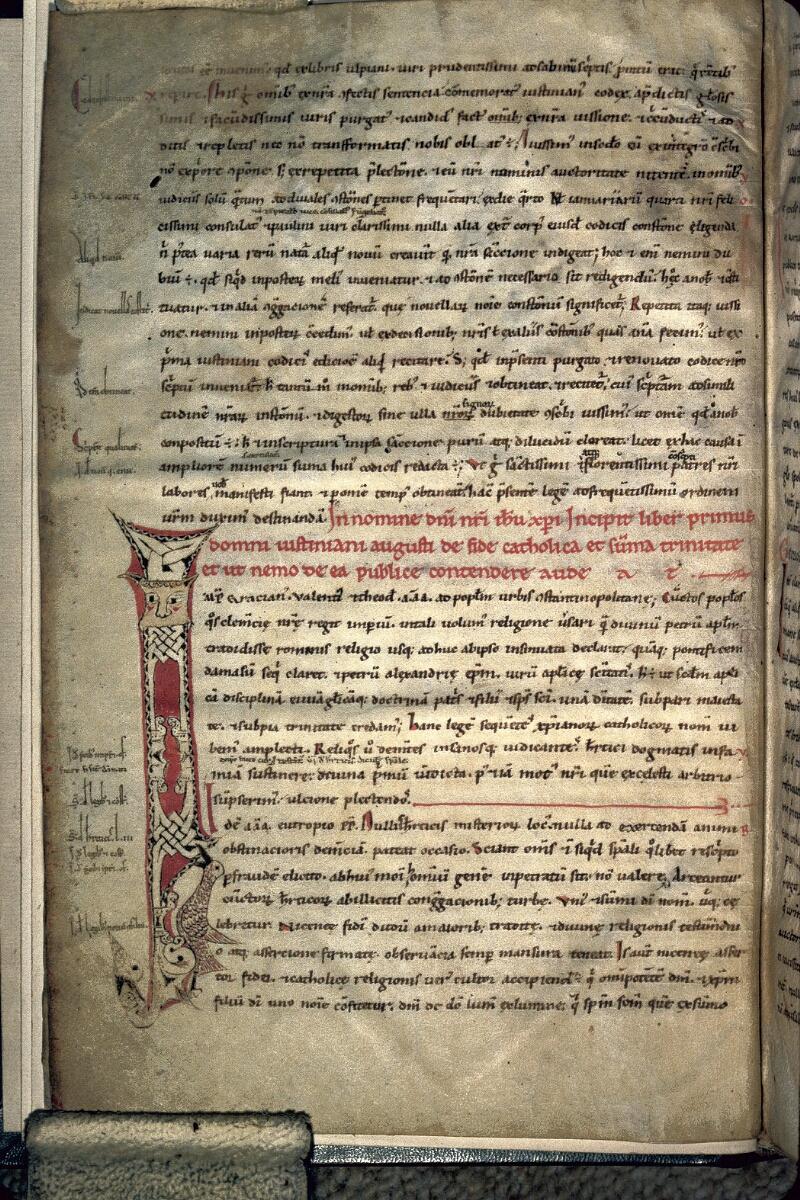 Avranches, Bibl. mun., ms. 0141, f. 002v - vue 1