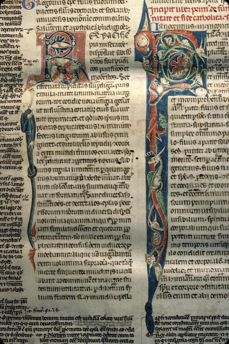 Avranches, Bibl. mun., ms. 0150, f. 005 - vue 3