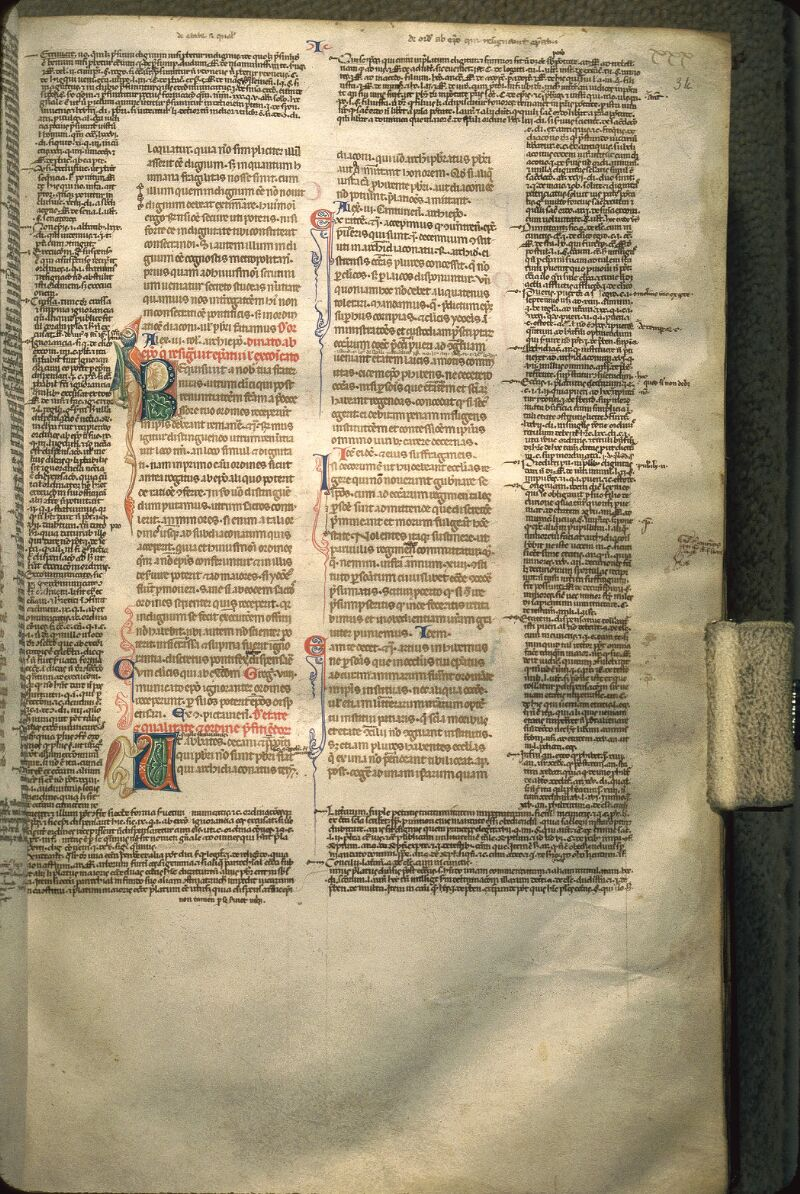 Avranches, Bibl. mun., ms. 0150, f. 034 - vue 1