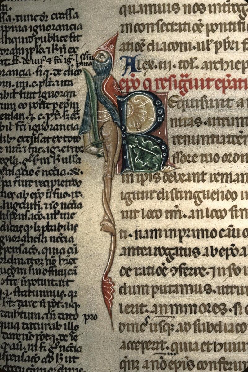 Avranches, Bibl. mun., ms. 0150, f. 034 - vue 2