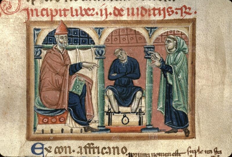 Avranches, Bibl. mun., ms. 0150, f. 061v - vue 2