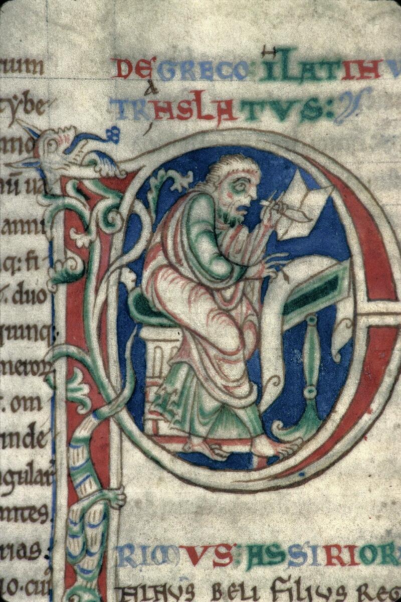Avranches, Bibl. mun., ms. 0159, f. 007v - vue 2