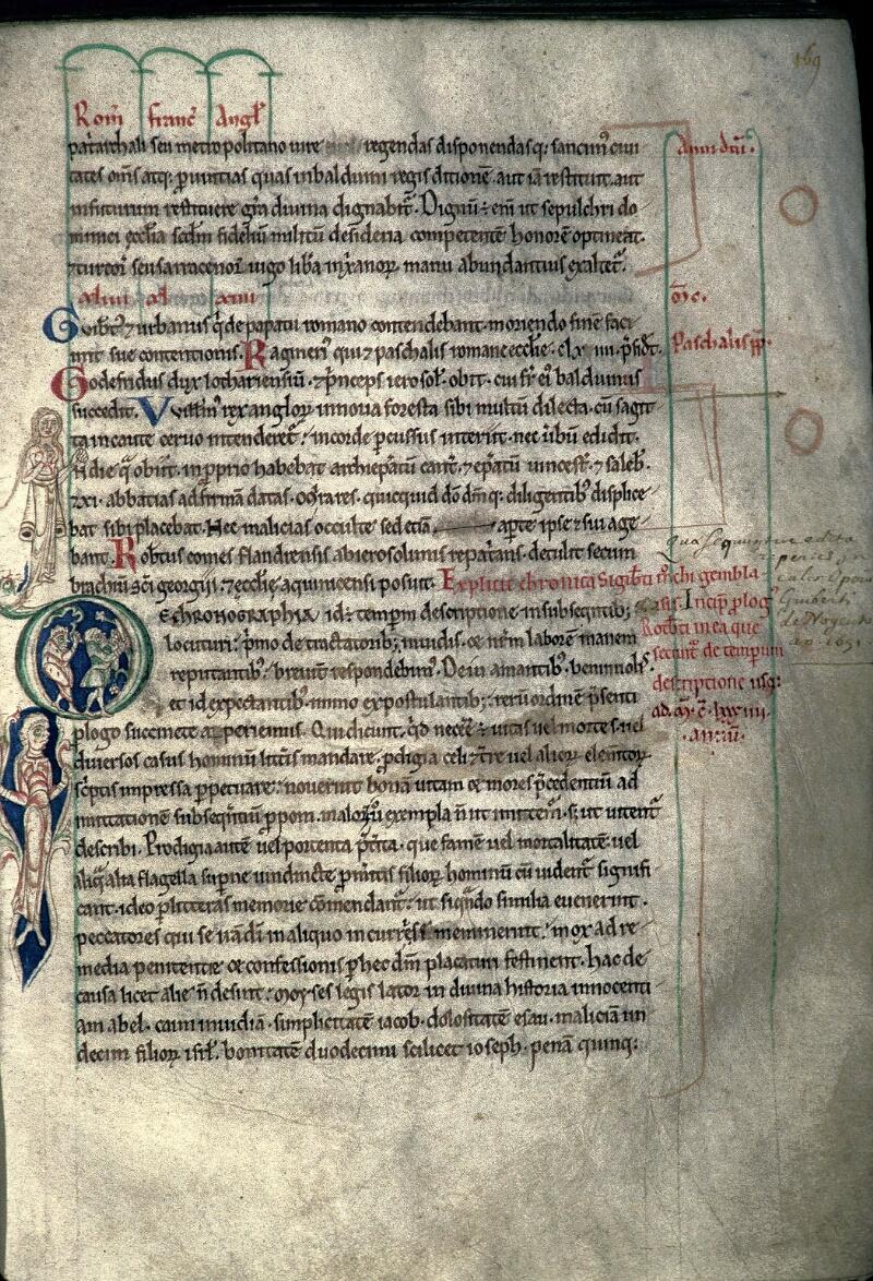 Avranches, Bibl. mun., ms. 0159, f. 169 - vue 1
