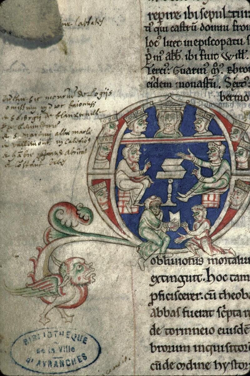 Avranches, Bibl. mun., ms. 0159, f. 174v