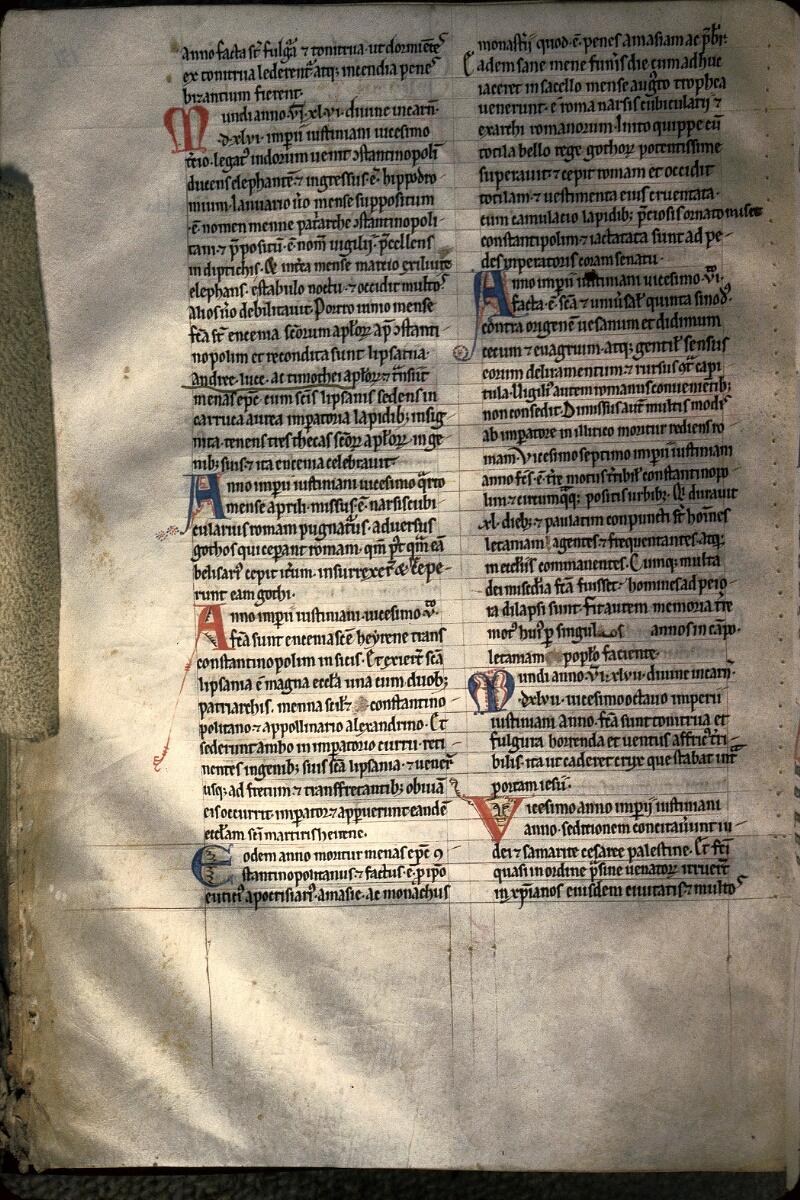 Avranches, Bibl. mun., ms. 0160, f. 171v