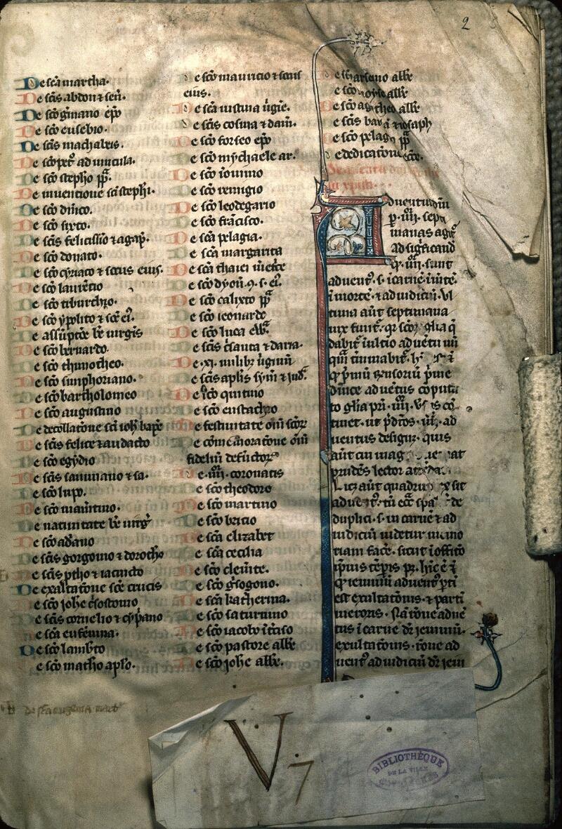 Avranches, Bibl. mun., ms. 0165, f. 002