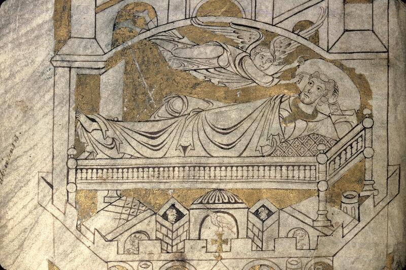Avranches, Bibl. mun., ms. 0210, f. 004v - vue 2
