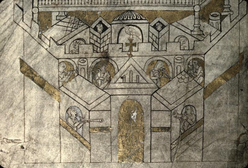 Avranches, Bibl. mun., ms. 0210, f. 004v - vue 5