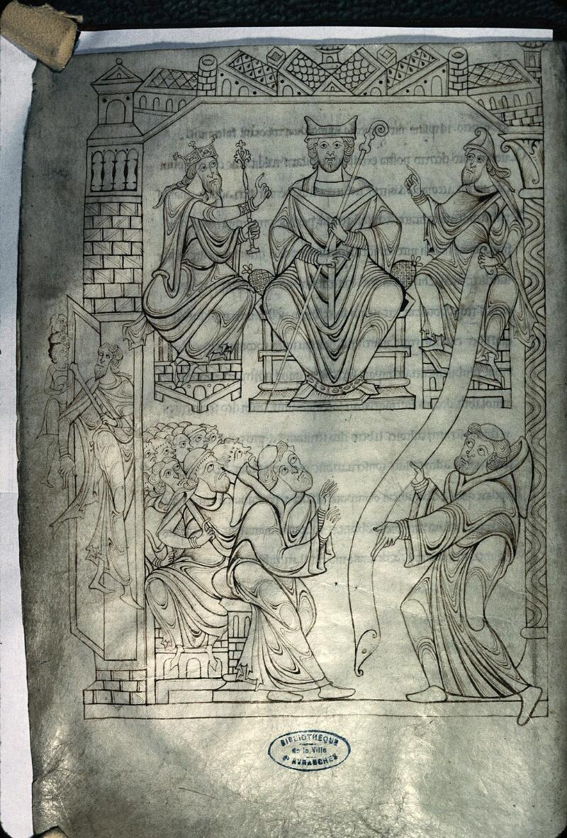 Avranches, Bibl. mun., ms. 0210, f. 019v - vue 1