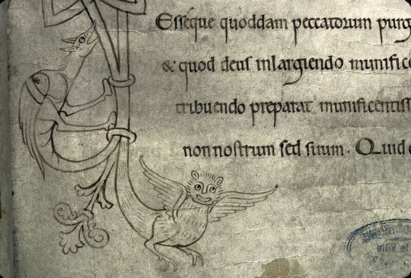 Avranches, Bibl. mun., ms. 0210, f. 020 - vue 2