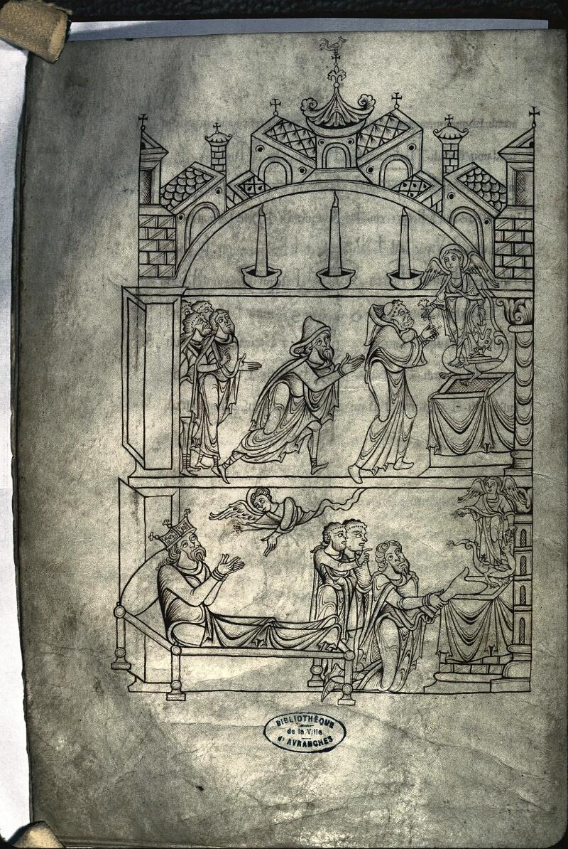Avranches, Bibl. mun., ms. 0210, f. 025v - vue 1