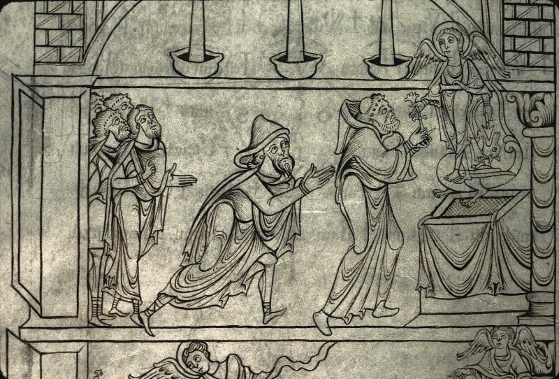 Avranches, Bibl. mun., ms. 0210, f. 025v - vue 3