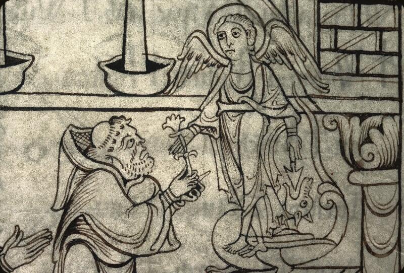 Avranches, Bibl. mun., ms. 0210, f. 025v - vue 4