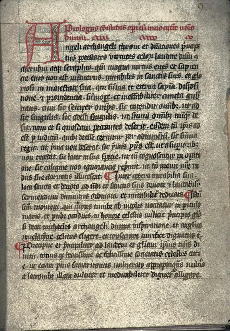 Avranches, Bibl. mun., ms. 0213, f. 009