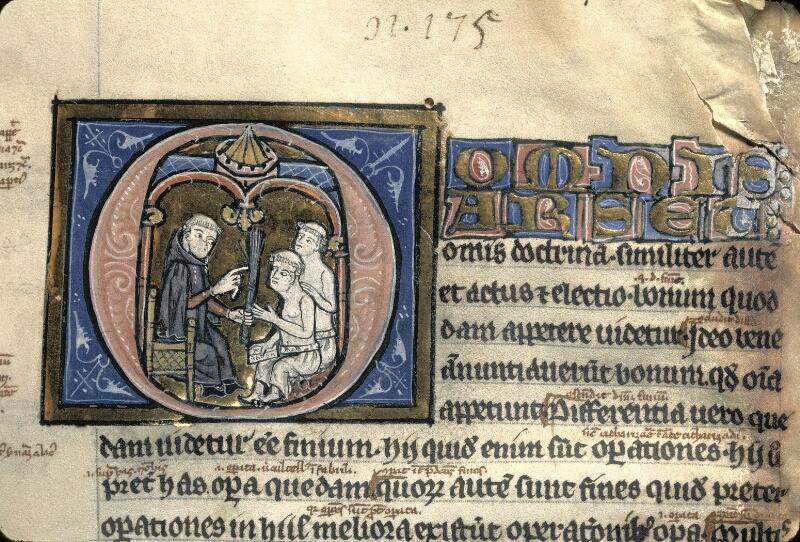 Avranches, Bibl. mun., ms. 0222, f. 001 - vue 2