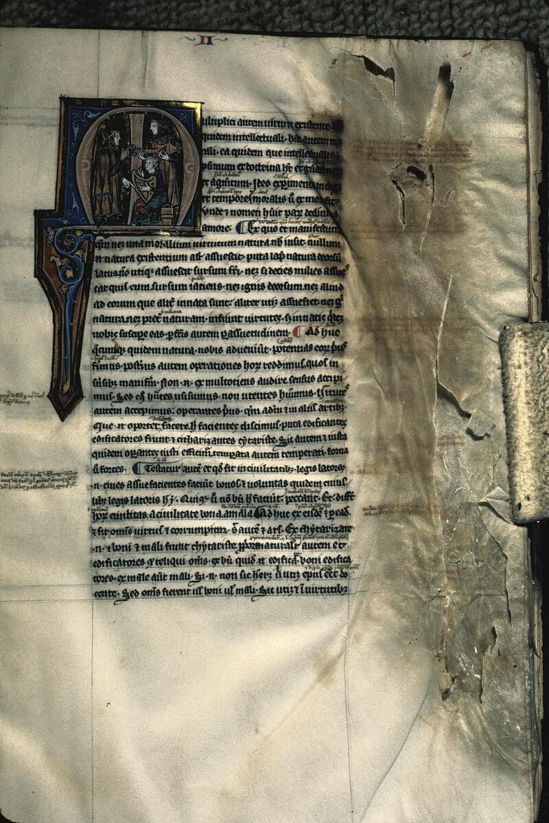 Avranches, Bibl. mun., ms. 0222, f. 009 - vue 1