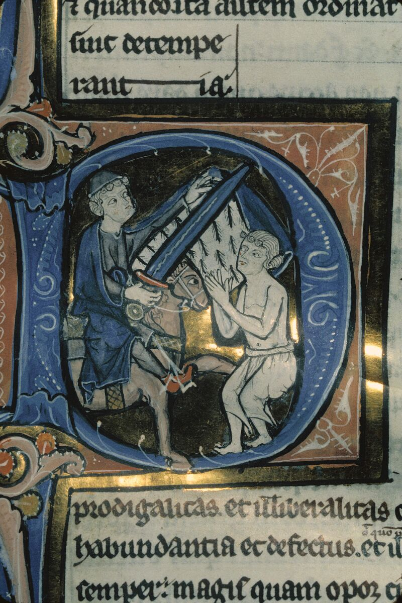 Avranches, Bibl. mun., ms. 0222, f. 023 - vue 2