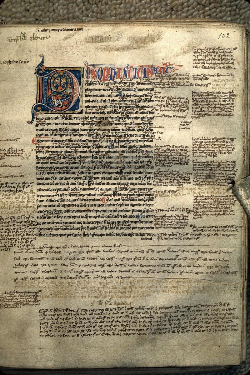 Avranches, Bibl. mun., ms. 0227, f. 102 - vue 1