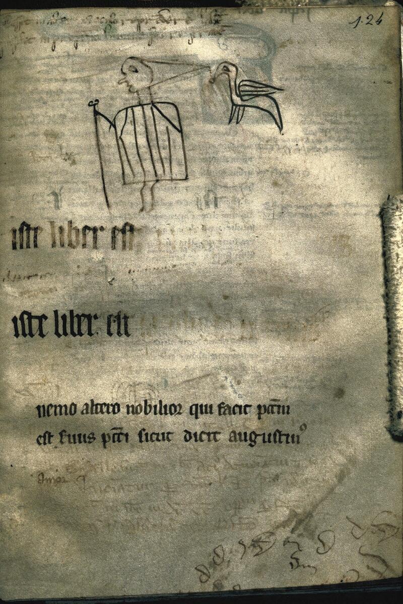 Avranches, Bibl. mun., ms. 0228, f. 124