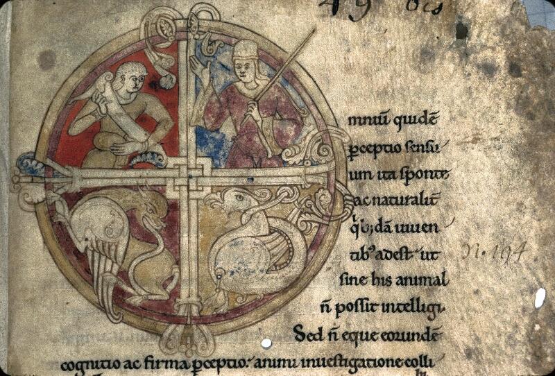 Avranches, Bibl. mun., ms. 0237, f. 001 - vue 2