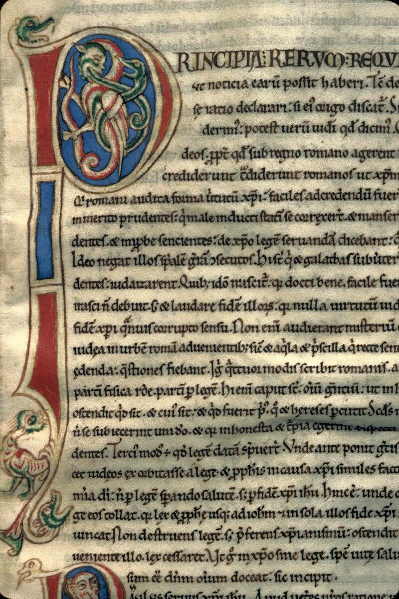 Avranches, Bibl. mun., ms. 0241, f. 129 - vue 2