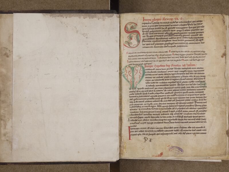 AVRANCHES, Bibliothèque municipale, 0109, contregarde - f. 001