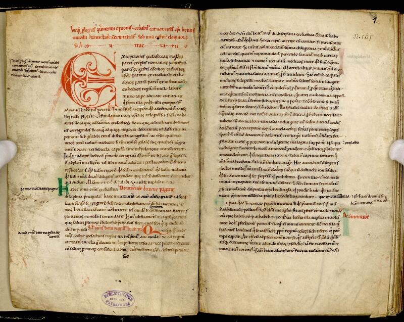 AVRANCHES, Bibliothèque municipale, 0147, f. 001v - 001 bis