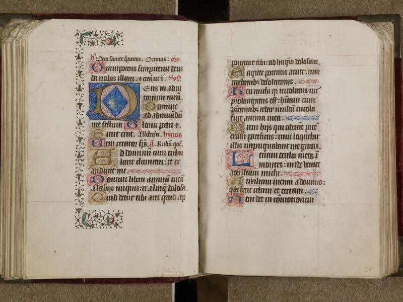 AVRANCHES, Bibliothèque municipale, 0302, f. 036v - 037